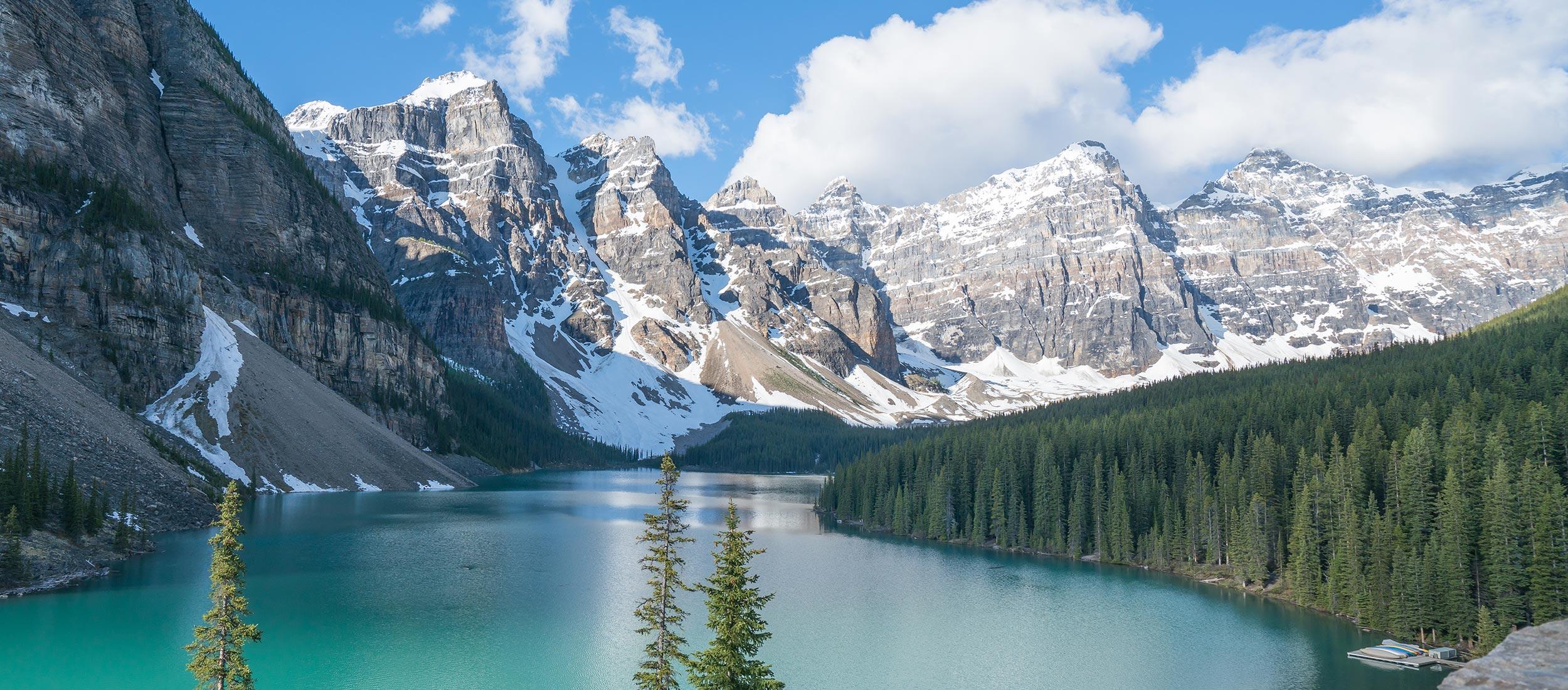 Kanada Berge See