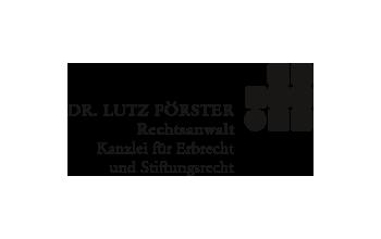 Dr. Lutz Förster Rechtsanwalt Logo