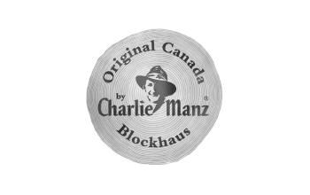 Original Canada Blockhaus by Charlie Manz Logo